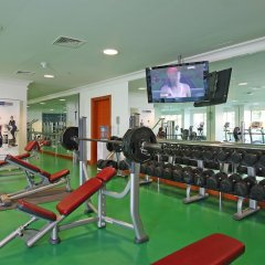 Al Raha Beach Hotel Villas фитнесс-зал фото 3
