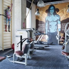 Comfort Hotel LT - Rock 'n' Roll Vilnius Вильнюс фитнесс-зал