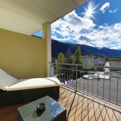 Отель Europe Швейцария, Давос - отзывы, цены и фото номеров - забронировать отель Europe онлайн балкон