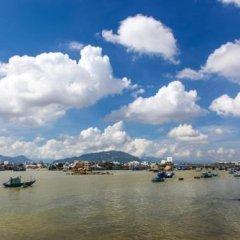 Azure Hotel Нячанг приотельная территория фото 2