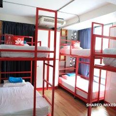 Zen Hostel Decho Road Бангкок комната для гостей