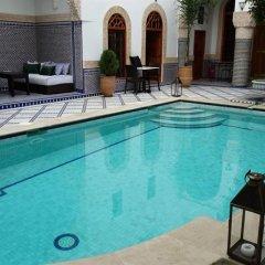 Отель Riad les Idrissides Марокко, Фес - отзывы, цены и фото номеров - забронировать отель Riad les Idrissides онлайн бассейн фото 3