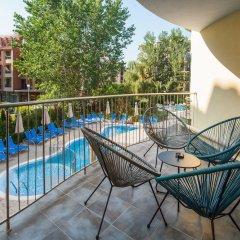 Отель Mariner's Hotel Болгария, Солнечный берег - отзывы, цены и фото номеров - забронировать отель Mariner's Hotel онлайн балкон