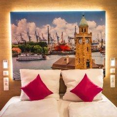 Отель Luckys Inn GmbH Германия, Гамбург - отзывы, цены и фото номеров - забронировать отель Luckys Inn GmbH онлайн комната для гостей фото 5