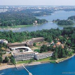 Отель Hilton Kalastajatorppa Хельсинки приотельная территория