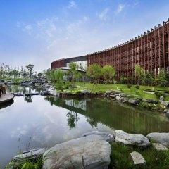 Отель Jin Jiang International Hotel Xi'an Китай, Сиань - отзывы, цены и фото номеров - забронировать отель Jin Jiang International Hotel Xi'an онлайн приотельная территория фото 2