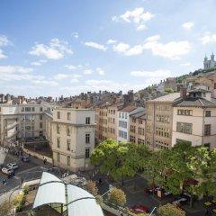 Отель Collège Hôtel Франция, Лион - отзывы, цены и фото номеров - забронировать отель Collège Hôtel онлайн балкон