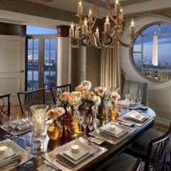 Отель Mandarin Oriental, Washington D.C. США, Вашингтон - отзывы, цены и фото номеров - забронировать отель Mandarin Oriental, Washington D.C. онлайн питание фото 3