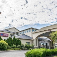 Отель Comfort Suites Columbus США, Колумбус - отзывы, цены и фото номеров - забронировать отель Comfort Suites Columbus онлайн вид на фасад