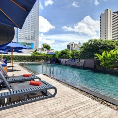 Отель Fraser Suites Sukhumvit, Bangkok Таиланд, Бангкок - отзывы, цены и фото номеров - забронировать отель Fraser Suites Sukhumvit, Bangkok онлайн бассейн