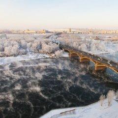 Гостиница ibis Krasnoyarsk Center Красноярск приотельная территория