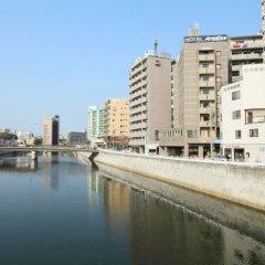 Отель Areaone Hakata Хаката приотельная территория