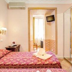 Отель Caravaggio Италия, Рим - 9 отзывов об отеле, цены и фото номеров - забронировать отель Caravaggio онлайн комната для гостей