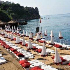 Bilem High Class Hotel Турция, Анталья - 2 отзыва об отеле, цены и фото номеров - забронировать отель Bilem High Class Hotel онлайн пляж фото 2