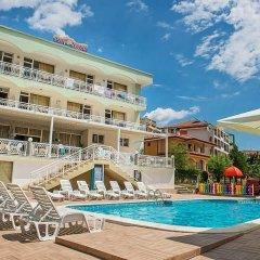 Отель Панорама Болгария, Свети Влас - отзывы, цены и фото номеров - забронировать отель Панорама онлайн бассейн
