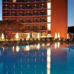 Отель Aqua Pedra Dos Bicos Design Beach Hotel - Только для взрослых Португалия, Албуфейра - отзывы, цены и фото номеров - забронировать отель Aqua Pedra Dos Bicos Design Beach Hotel - Только для взрослых онлайн бассейн фото 2