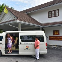 Отель Paradise Beach Resort Samui городской автобус