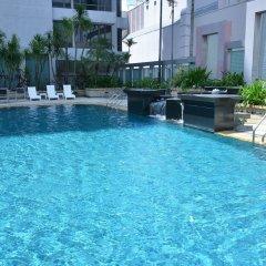 Peninsula Excelsior Hotel Сингапур бассейн фото 3