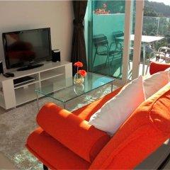Отель Kata Ocean View 1 bedroom Great Sea View пляж Ката комната для гостей