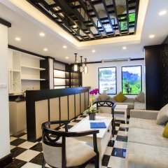 Отель Serenity Diamond Ханой интерьер отеля