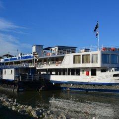 Fortuna Boat Hotel Будапешт приотельная территория фото 2