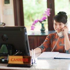 Отель Vinh Hung Riverside Resort & Spa интерьер отеля фото 2