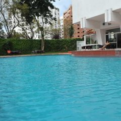 Отель Intercontinental Hotel Tangier Марокко, Танжер - отзывы, цены и фото номеров - забронировать отель Intercontinental Hotel Tangier онлайн бассейн фото 3