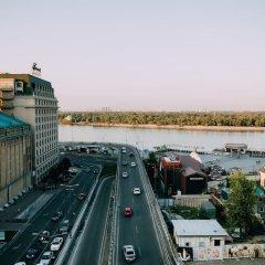 Отель Ривьера на Подоле Киев балкон