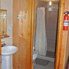 Отель Cabañas Claro de Luna Мексика, Креэль - отзывы, цены и фото номеров - забронировать отель Cabañas Claro de Luna онлайн ванная фото 2