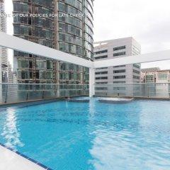 Отель ZEN Home Parkview KLCC Малайзия, Куала-Лумпур - отзывы, цены и фото номеров - забронировать отель ZEN Home Parkview KLCC онлайн бассейн фото 2