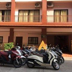 Апартаменты K&J Apartment Паттайя парковка