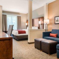 Отель Comfort Suites Columbus Airport США, Колумбус - отзывы, цены и фото номеров - забронировать отель Comfort Suites Columbus Airport онлайн комната для гостей фото 3