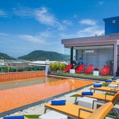 Отель The Crib Patong спортивное сооружение