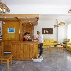Отель Kamari Blu Греция, Остров Санторини - отзывы, цены и фото номеров - забронировать отель Kamari Blu онлайн интерьер отеля фото 2