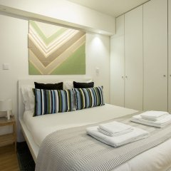 Апартаменты Liiiving in Porto Downtown Terrace Apartment комната для гостей фото 2