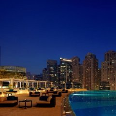 Отель The Address Dubai Marina Дубай бассейн фото 2