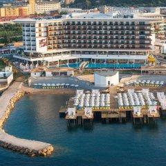 Sirius Deluxe Hotel Турция, Аланья - отзывы, цены и фото номеров - забронировать отель Sirius Deluxe Hotel онлайн пляж