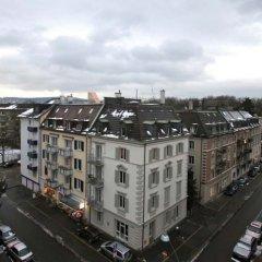 Отель Swiss Star Wiedikon балкон