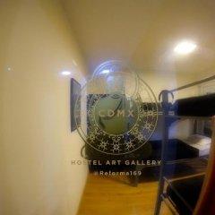 Отель CDMX Hostel Art Gallery Мексика, Мехико - отзывы, цены и фото номеров - забронировать отель CDMX Hostel Art Gallery онлайн удобства в номере фото 2