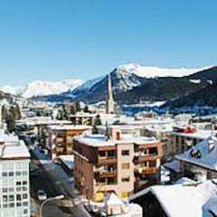 Отель Club Hotel Davos Швейцария, Давос - отзывы, цены и фото номеров - забронировать отель Club Hotel Davos онлайн балкон