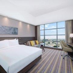 Отель Hampton by Hilton Dubai Airport комната для гостей фото 3