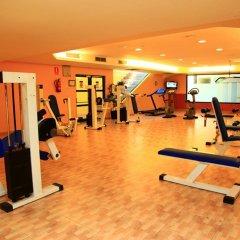 Отель Ohtels Vila Romana Испания, Салоу - 5 отзывов об отеле, цены и фото номеров - забронировать отель Ohtels Vila Romana онлайн фитнесс-зал