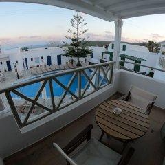 Отель Mathios Village Греция, Остров Санторини - отзывы, цены и фото номеров - забронировать отель Mathios Village онлайн балкон