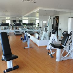 Ascot Hotel Дубай фитнесс-зал