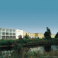 Отель Vejle Center Hotel Дания, Вайле - отзывы, цены и фото номеров - забронировать отель Vejle Center Hotel онлайн приотельная территория фото 2