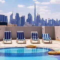 Отель Upscale Suite With Pool And Wellness 1 Bedroom Apts ОАЭ, Дубай - отзывы, цены и фото номеров - забронировать отель Upscale Suite With Pool And Wellness 1 Bedroom Apts онлайн бассейн фото 2