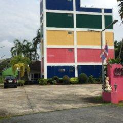 Rainbow Hotel парковка фото 3