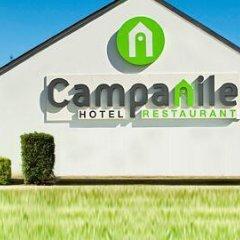 Отель Campanile Toulouse Sesquieres Франция, Тулуза - 1 отзыв об отеле, цены и фото номеров - забронировать отель Campanile Toulouse Sesquieres онлайн приотельная территория фото 2