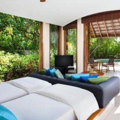 Отель Conrad Maldives Rangali Island 5* Вилла Делюкс с различными типами кроватей