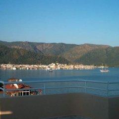 Selen Hotel пляж